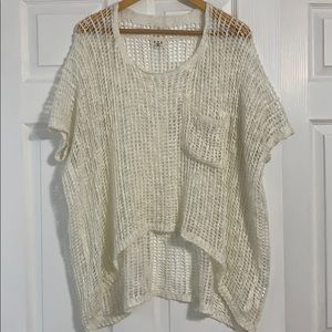 Cream Summer Top